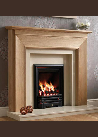 Be Modern Wooden Fireplace Surrounds Cross Fireplace Centre